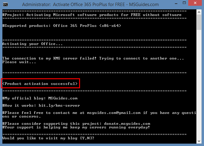 Install and Activate Office 365