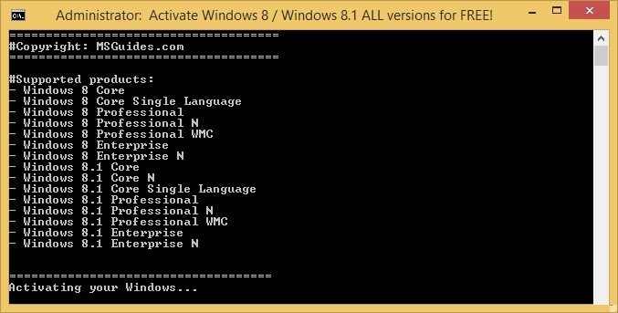 How to Activate Windows 8.1