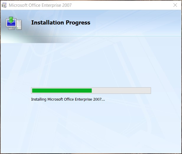 Office 2007 installation guide step by step
