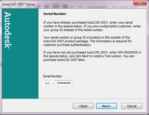 How to install and crack Autocad 2007