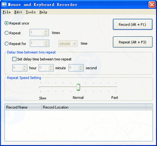 Mouse and Keyboard Recorder