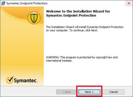 How to install Symantec Endpoint Protection