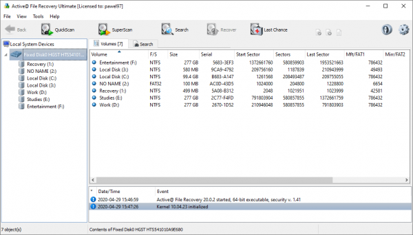 Active File Recovery Free Download With Crack